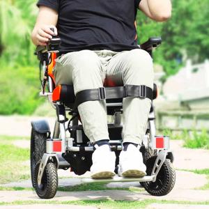 powered folding wheelchair