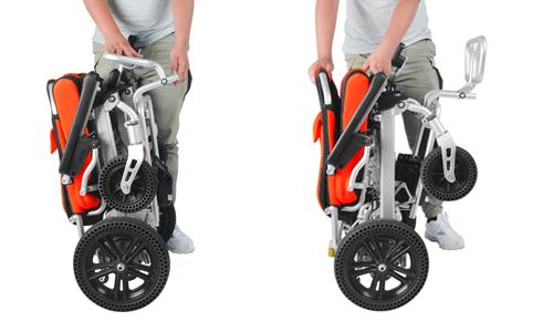 folding lightweight wheelchair